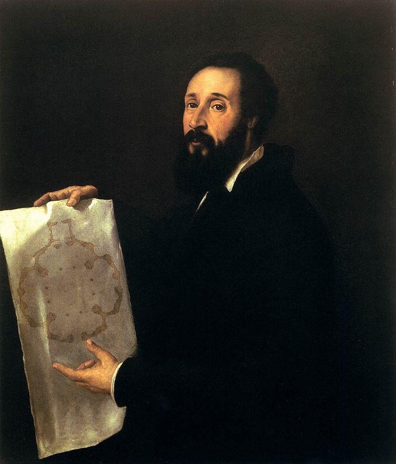 Titian, Portrait of Giulio Romano