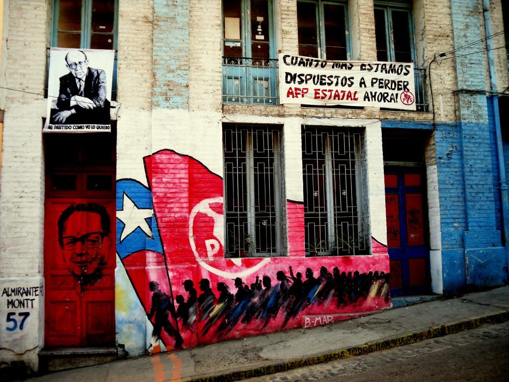 Valparaíso Chile retouche