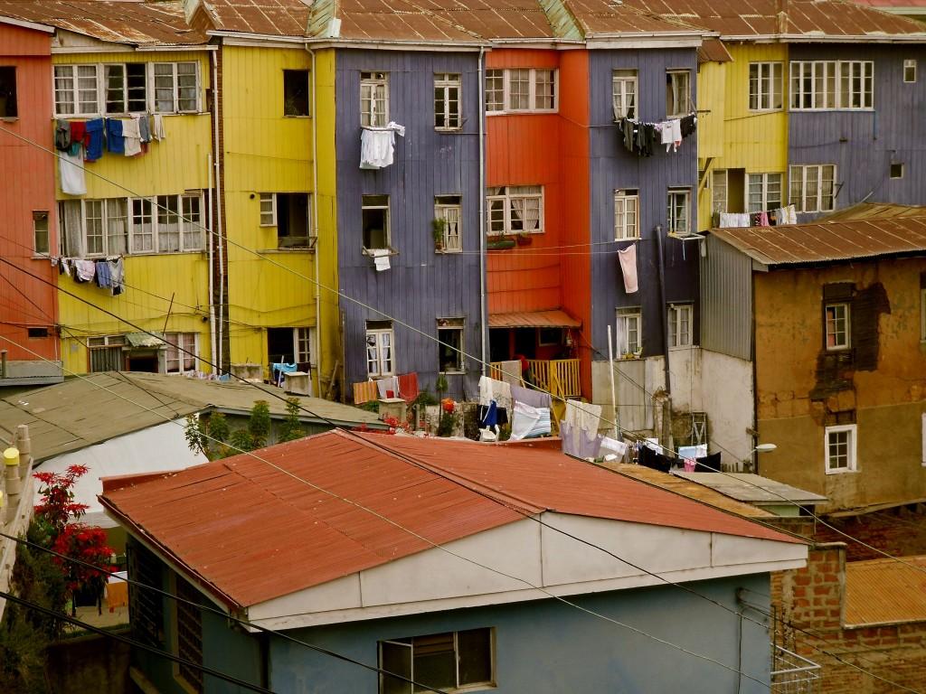 Valparaíso facades
