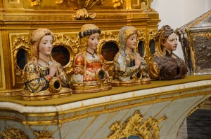Reliquaries, Burgos Cathedral