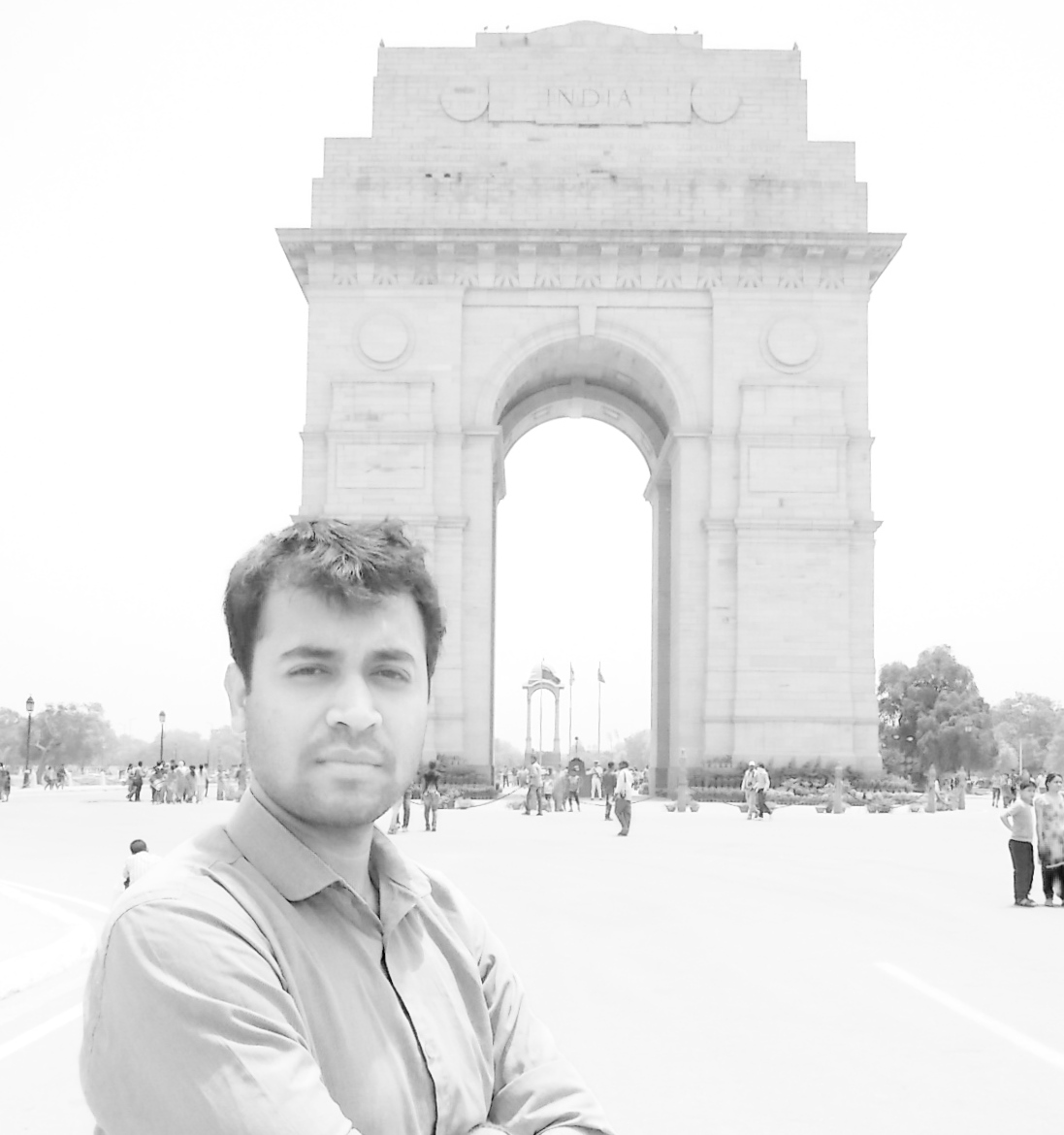India gate Harish Goel
