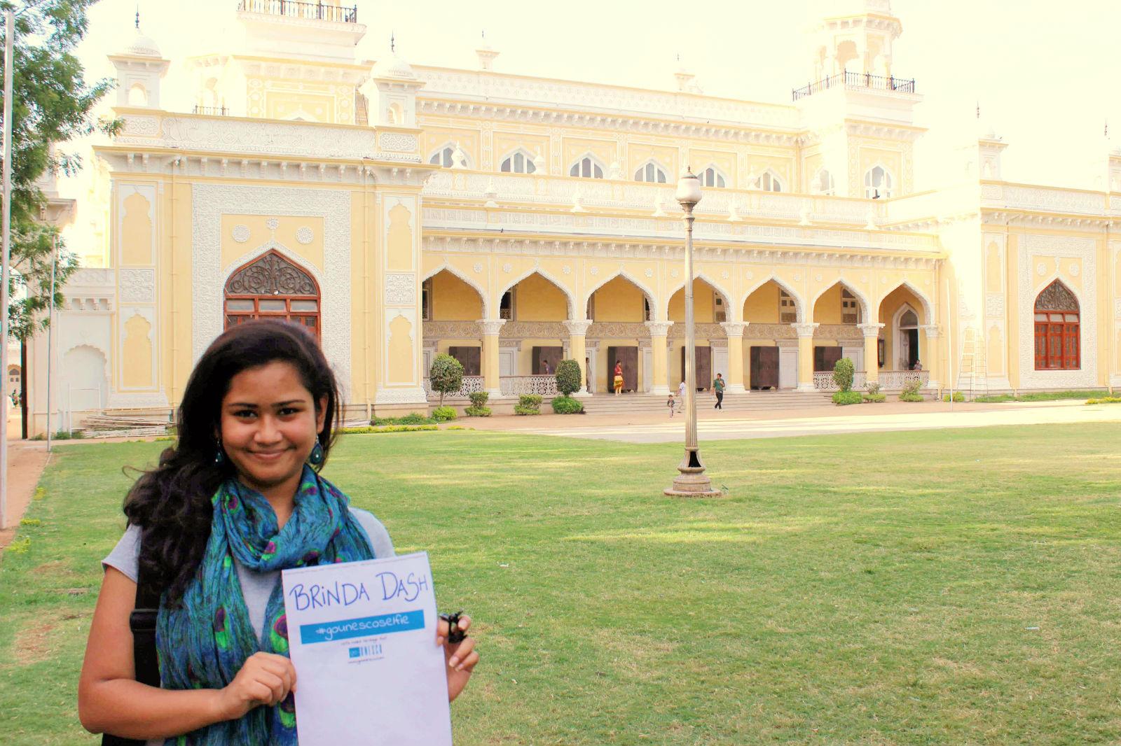 #GoUNESCOselfie at the Chowmahalla Palace, Hyderabad