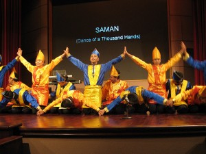 Colourful Saman Dance from Aceh