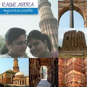 #GoUNESCOSelfie #CampusAmbassador #TaskOne #Travelling #Exploring #IncredibleIndia #Delhi #QutubMinar