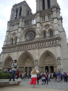 The (hunch)backpacker of Notre Dame!