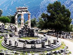 Original Site of the Serpentine Column