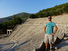 The Massive Epidaurus Theatre