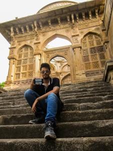 #gounescoselfie @Jami Masjid in Champaner,Gujarat