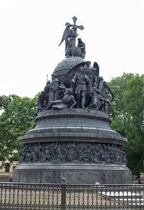 Millennium of Russia Monument in Novgorod