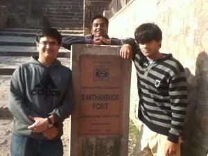 Ranthambhor Fort!