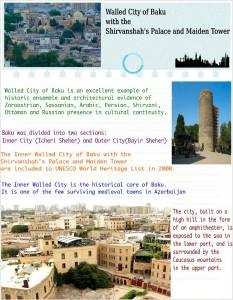 Walled City of Baku