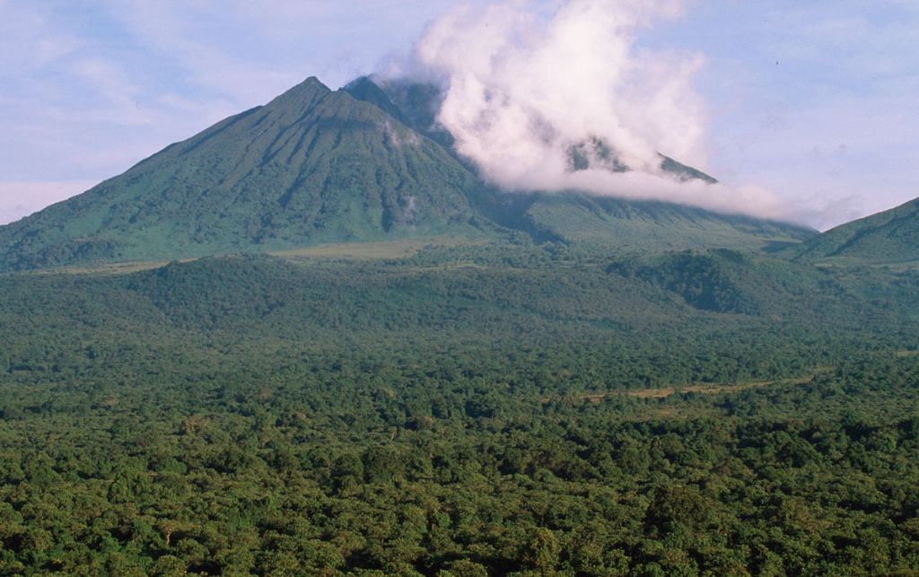 Sabinyo Volcano, Virunga National Park