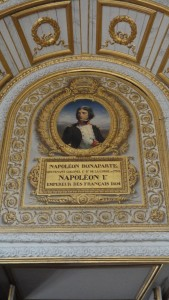 A portrait of Napoleon in Versailles – pride of French