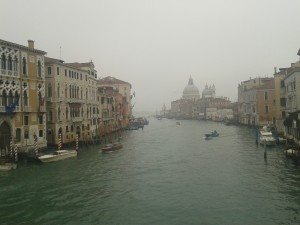 Once upon a time on a gloomy day in Venice…