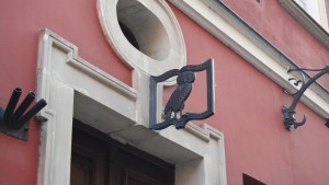 In the streets of Warsaw's historic center…
