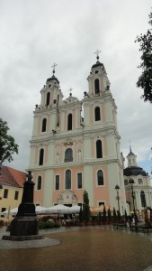 Vilnius, Estonia. Church of St. Catherine