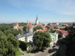 Tallinn, Estonia. Patkuli viewing platform