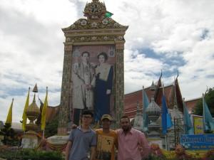 At Ayutthaya, Thailand