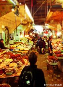 Inside the Medina in Meknes
