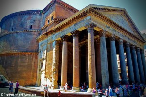 The Pantheon – Part of the historic centre of Rome