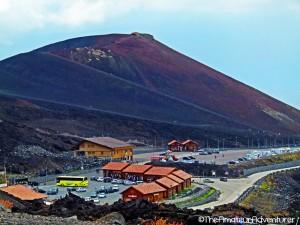 Visitor Centre at Mt Etna