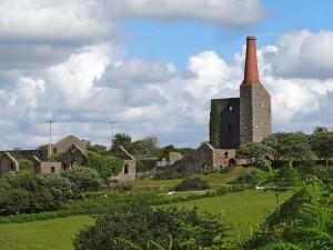 Cornwall Mining Landscape On Bodmin Moor