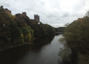 Durham Cathedral from Framwelgate Bridge