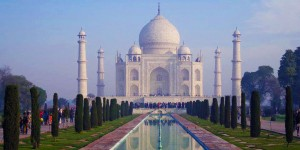 Taj Mahal – the most beautiful building in the world.
