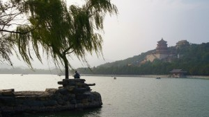 Sunset over Kunming Lake and Longevity Hill