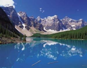 Moriane lake Canada