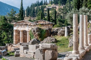 Archaeological Site of Delphi – Greece