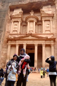 Visiting the Treasury and Al Souq in Petra, Jordan