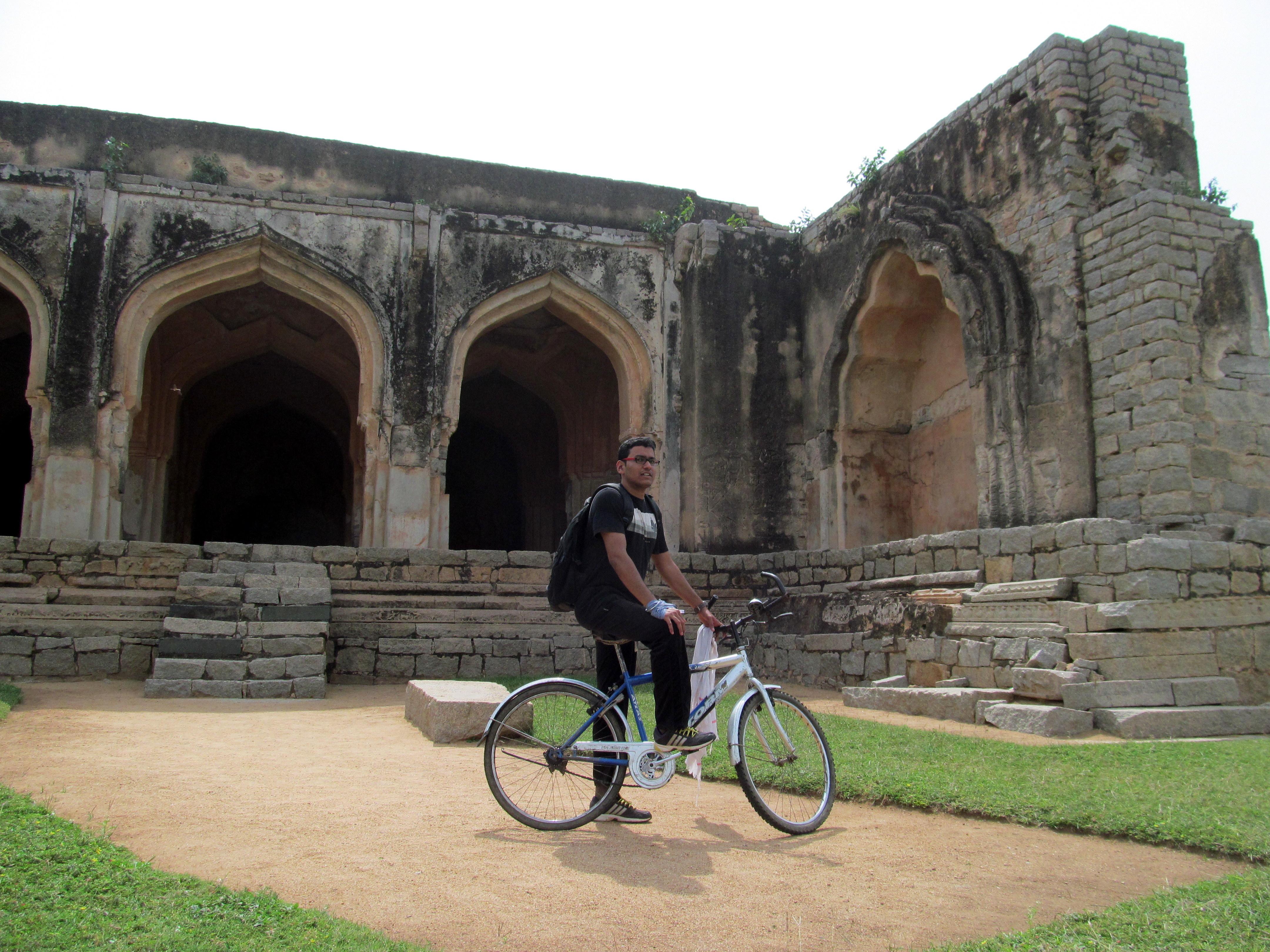 Hampi cycling