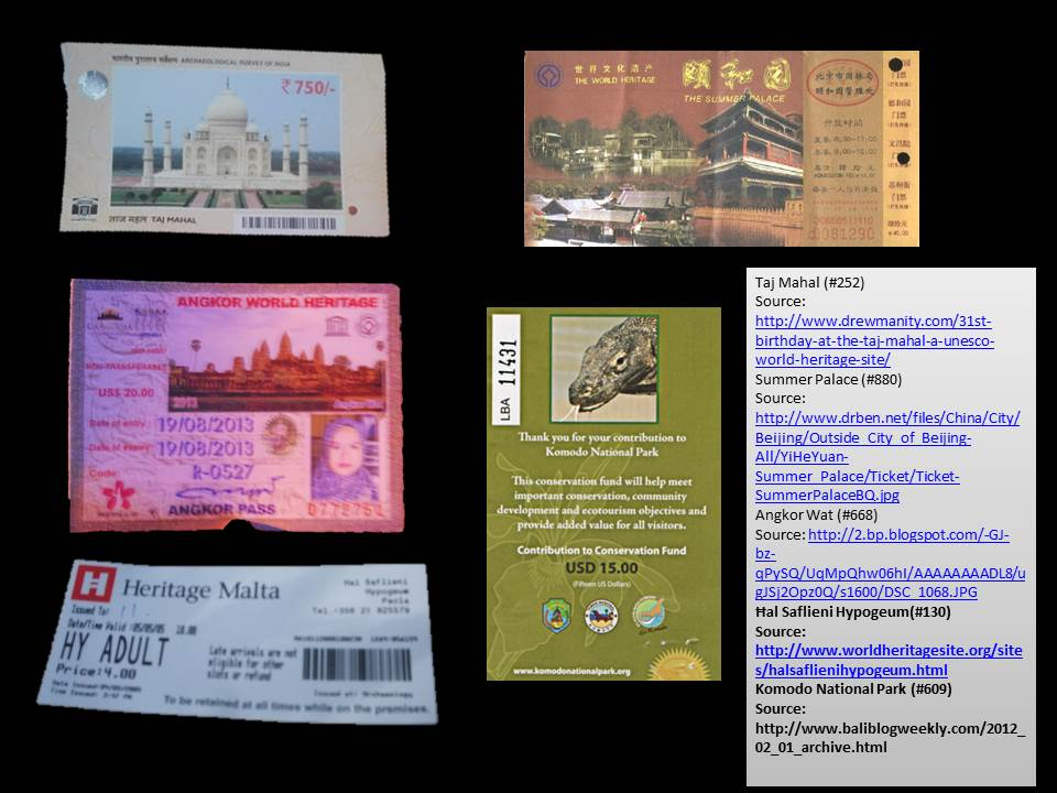 world heritage site tickets