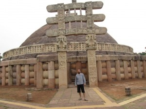 Buddhist monuments at Sanchi