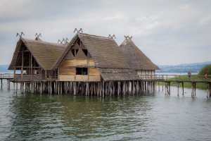 Reconstructed huts done authentically