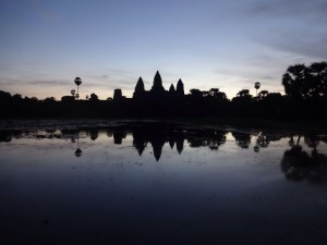 Ang Kor Wat before sunrise