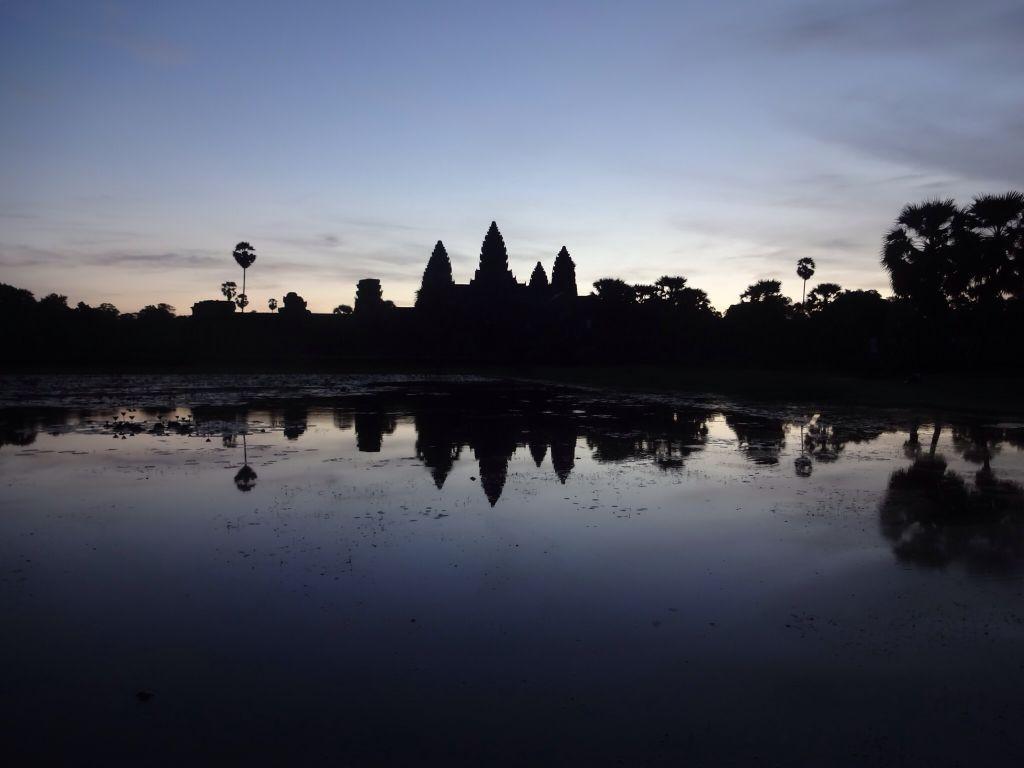 Ang Kor Wat before sunrise