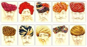 The vividness of Traditional Rajasthan Turbans