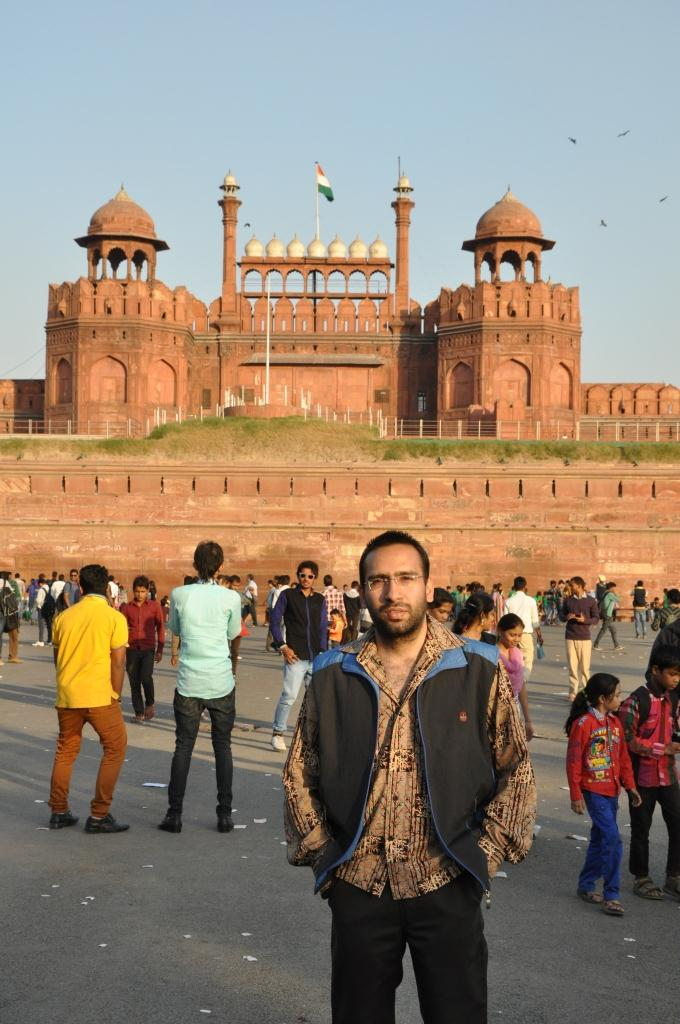 Shashank, Red Fort, Delhi