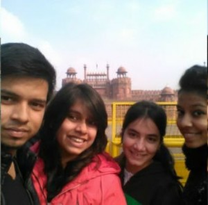 Red fort with Friends