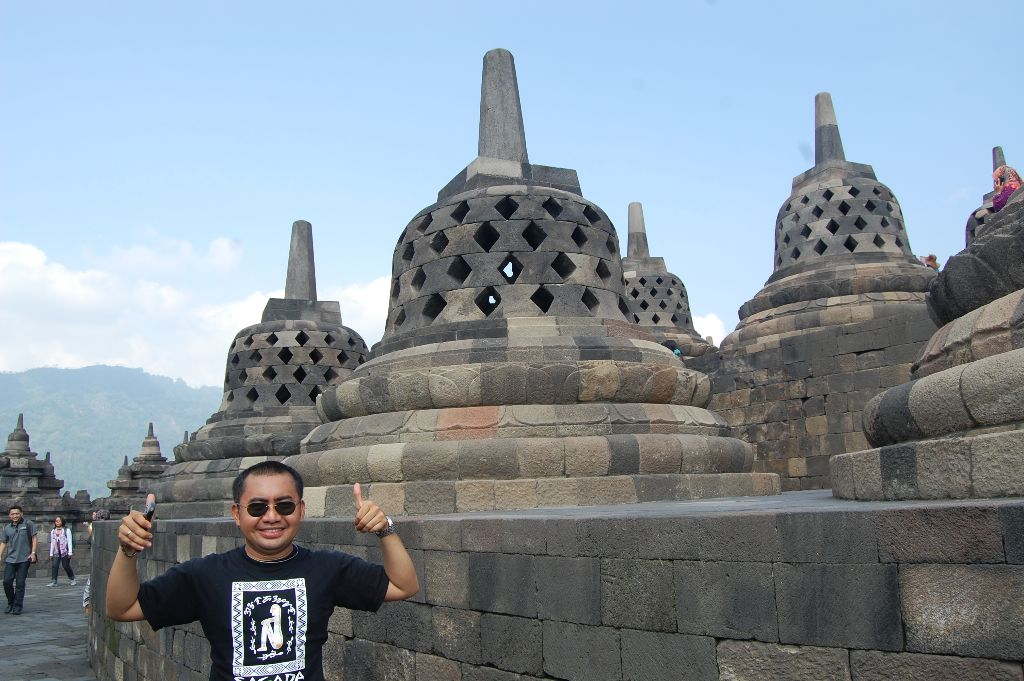 Bernard Borobudur temple