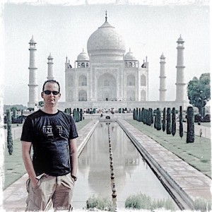 Been there, done that: Taj Mahal