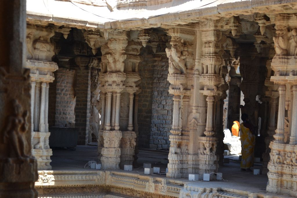 Pillars at Vitthala Temple