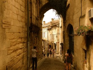 Saint-Emilion, wine country