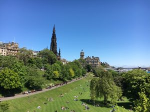 Lots to see in beautiful Edinburgh