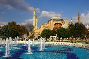 Mosques and palaces in Istanbul