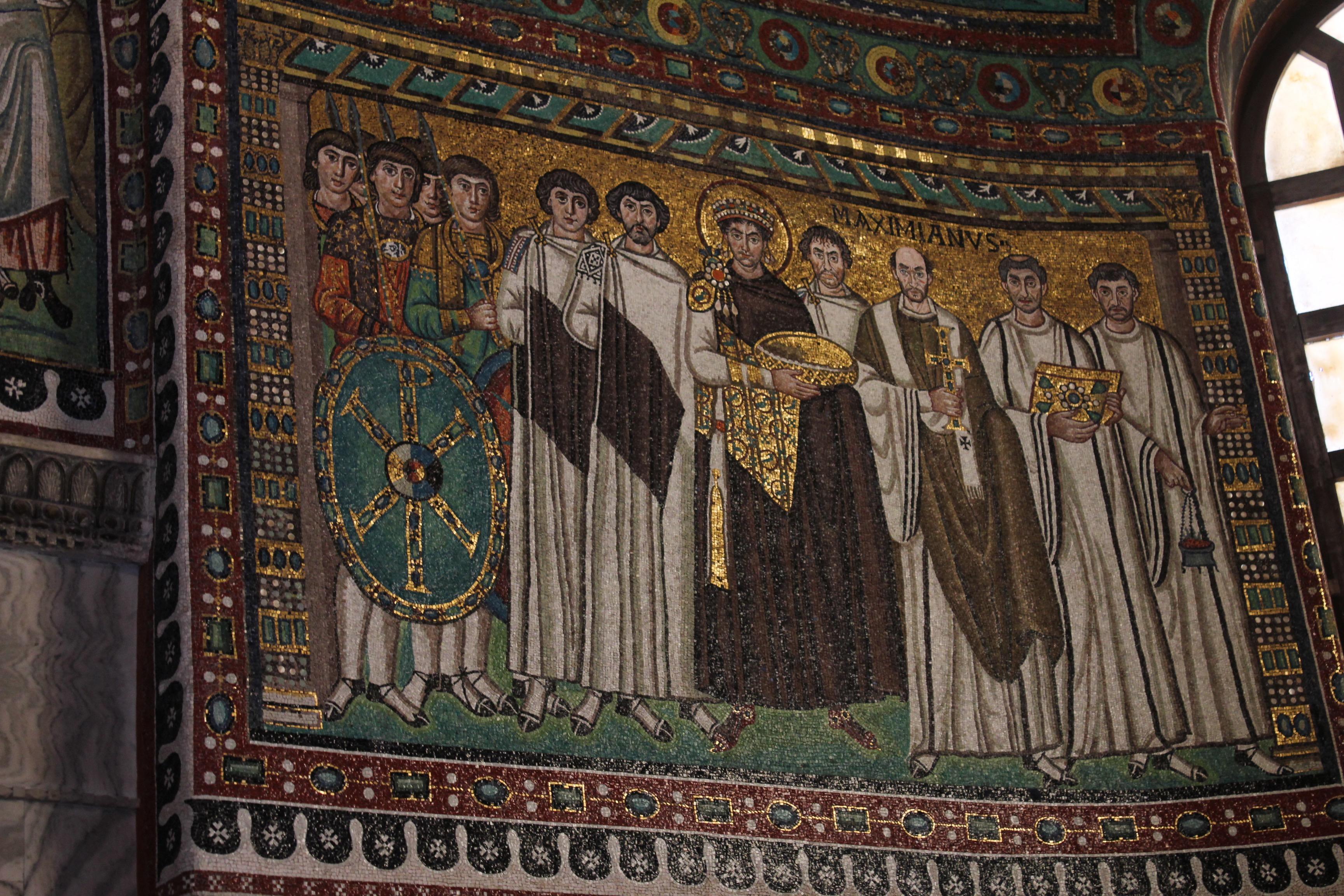 The emperor Justinian I