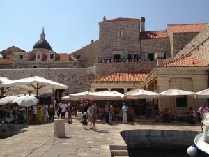 Discovering the streets of old Dubrovnik