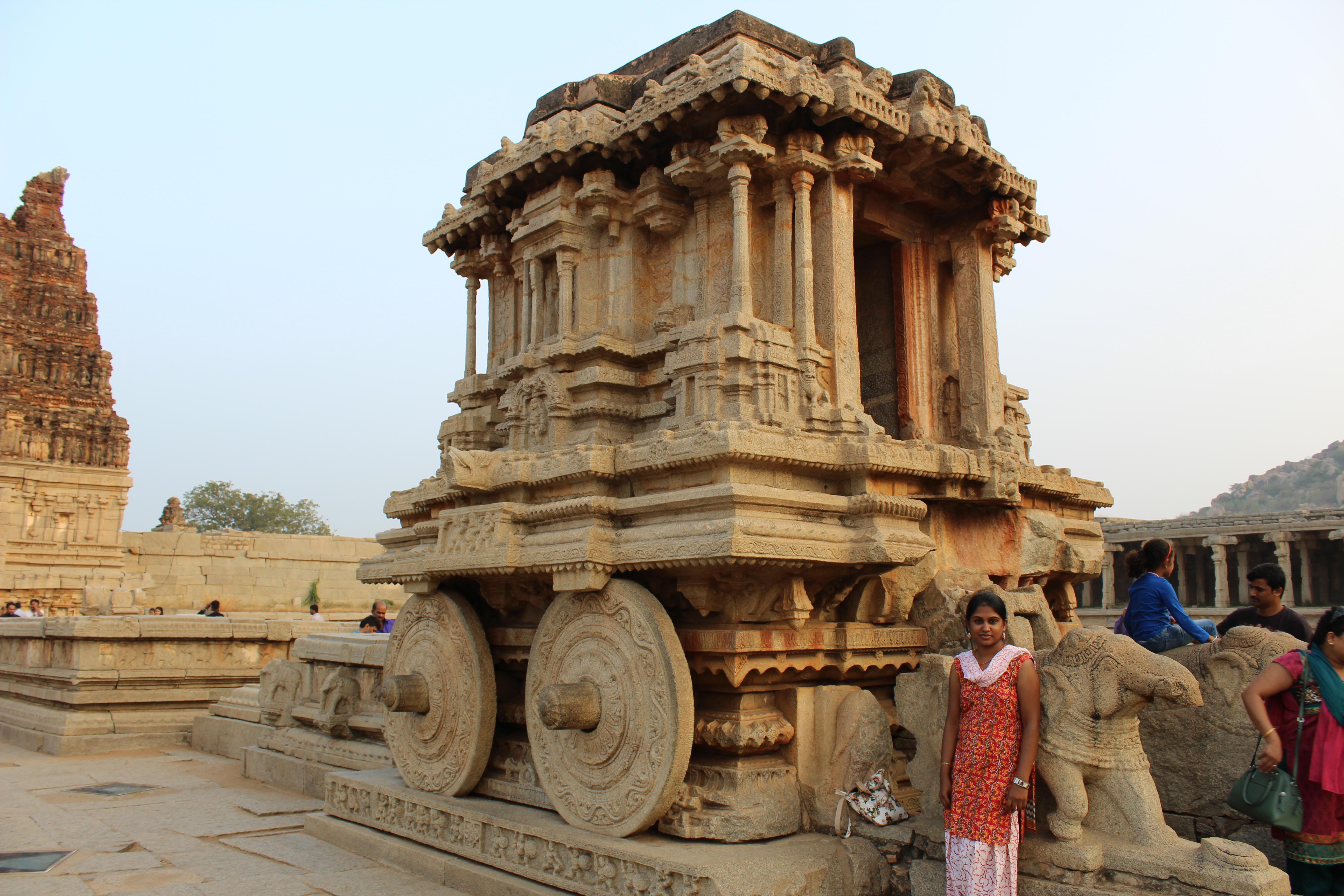 Chariot at Vittala temple